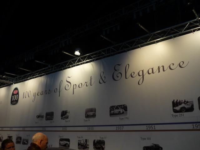 2010 - [Exposition] Les 100 ans de Bugatti 411