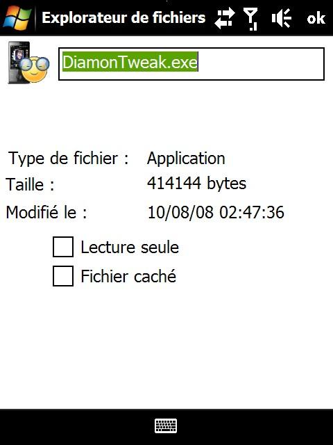 Extension explorateur de fichier Screen13