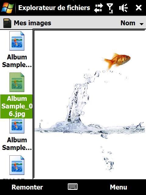 Extension explorateur de fichier Screen14