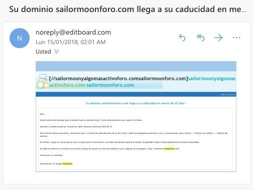 Transferir nombre de dominio (de Foroactif a GoDaddy) Screen12