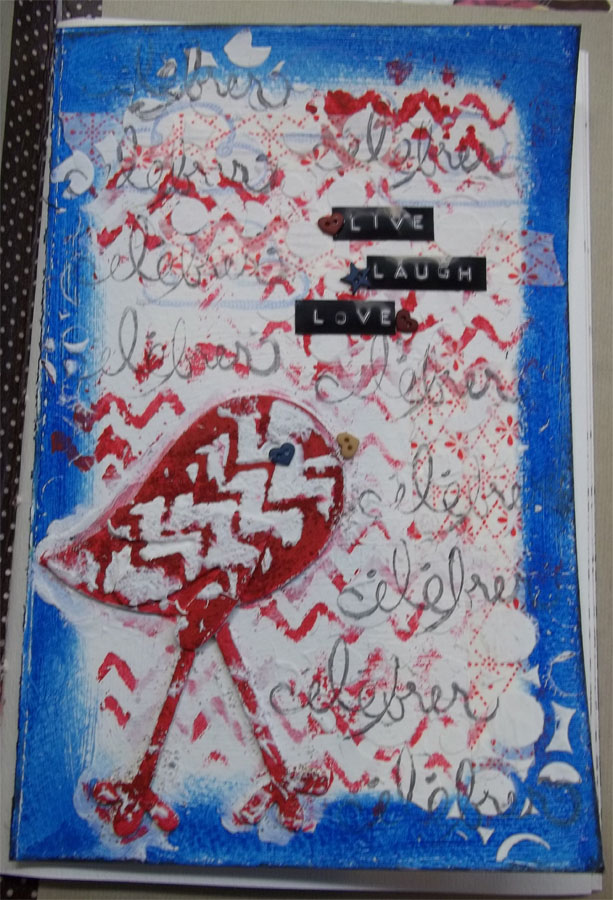Mon journal créatif! Scrapt13