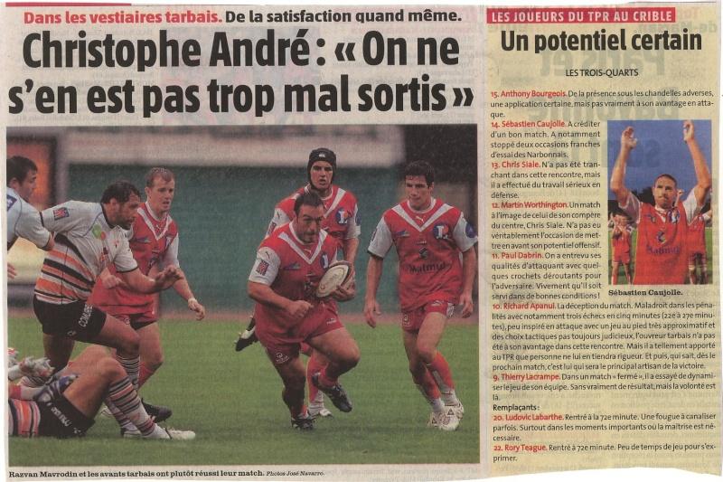 Nouvelle République des Pyrénées - Page 2 Lund110