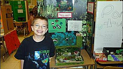 Kyron Horman, aged 7, went missing at his school. 15659711