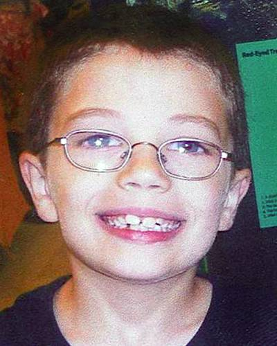 Kyron Horman, aged 7, went missing at his school. Ncmc1110