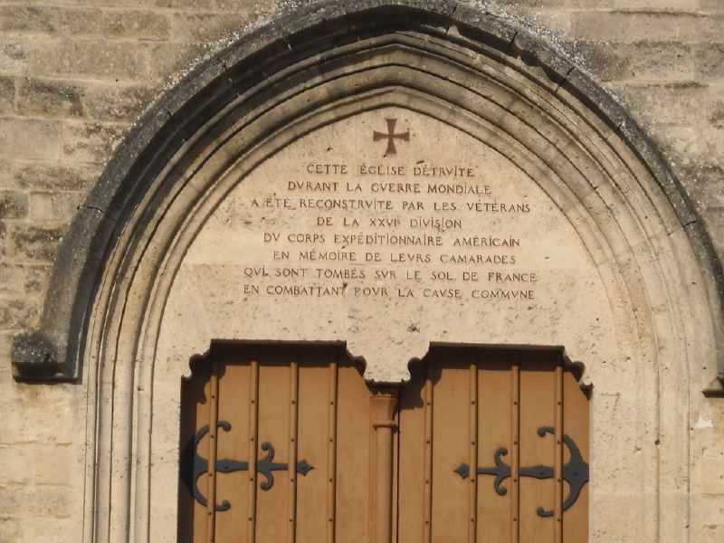 A la découverte des mémoriaux et cimetières militaires - Page 3 Aglise11