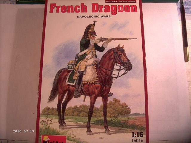 Baubericht französ. Dragoner 1815, MiniArt / 1:16 119