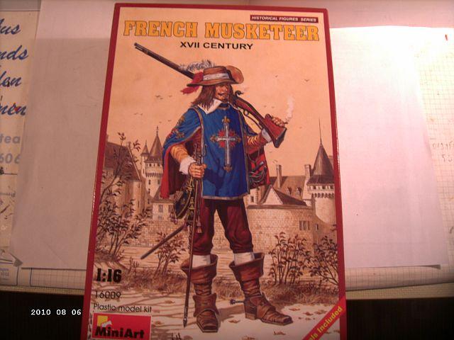 MiniArt - Franz. Musketier 17. Jahrhundert Artikel 16009 in 1zu16 129