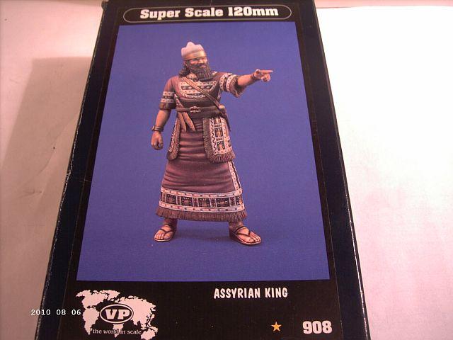 Verlinden 908 - 120mm Figur Assyrischer König 130