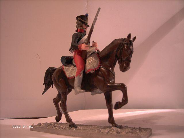 Metal Models - Husar des 7ten Regiments 1808 - 54mm 210