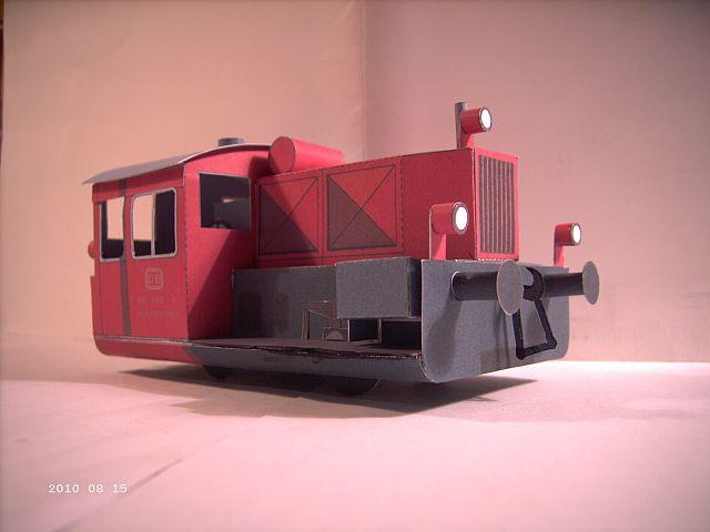 Pirling Köf II in 1/38 - Kartonmodell eines Plastikbauers 244