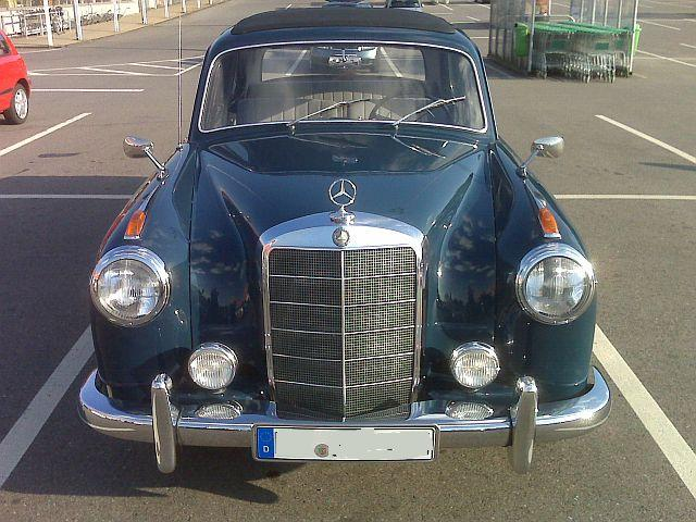 Mercedes Benz 220S - Vorbildfotos 278