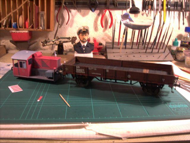 Pirling Köf II in 1/38 - Kartonmodell eines Plastikbauers 2a10