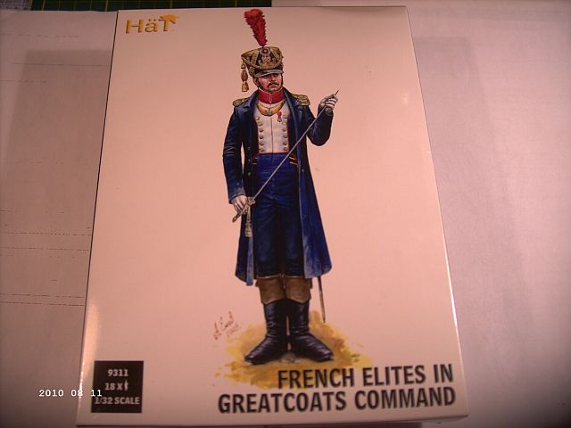 HÄT 9311 - French Elites in Greatcoats Command in 1/35 330
