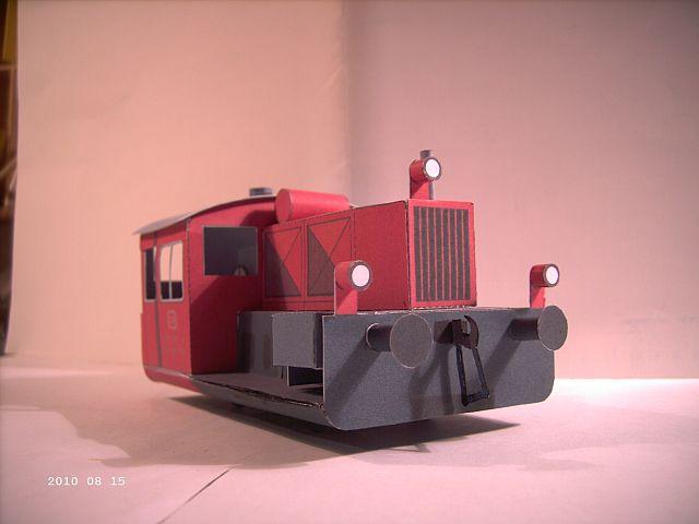 Pirling Köf II in 1/38 - Kartonmodell eines Plastikbauers 332