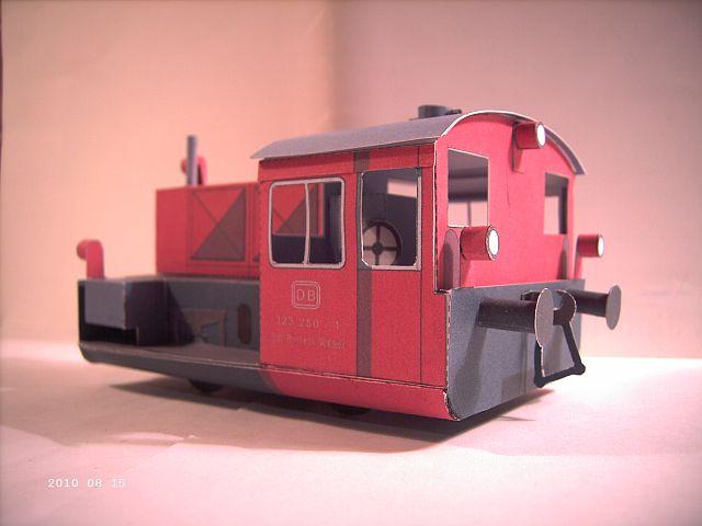 Pirling Köf II in 1/38 - Kartonmodell eines Plastikbauers 426