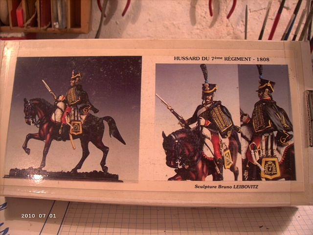 Metal Models - Husar des 7ten Regiments 1808 - 54mm 510