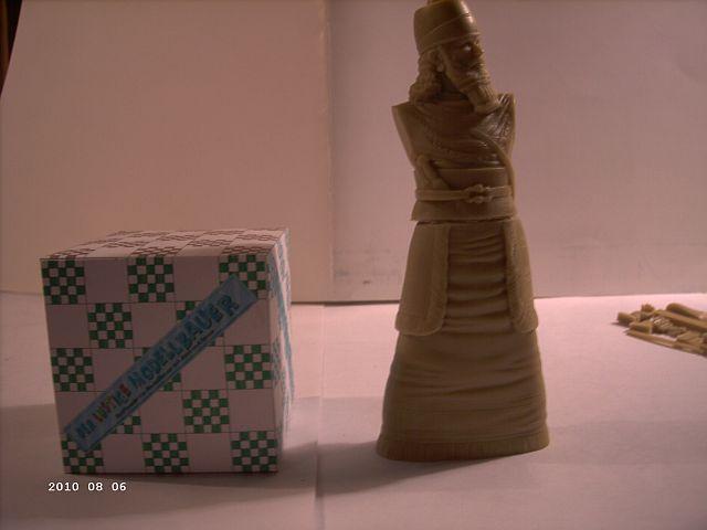 Verlinden 908 - 120mm Figur Assyrischer König 6_gras10