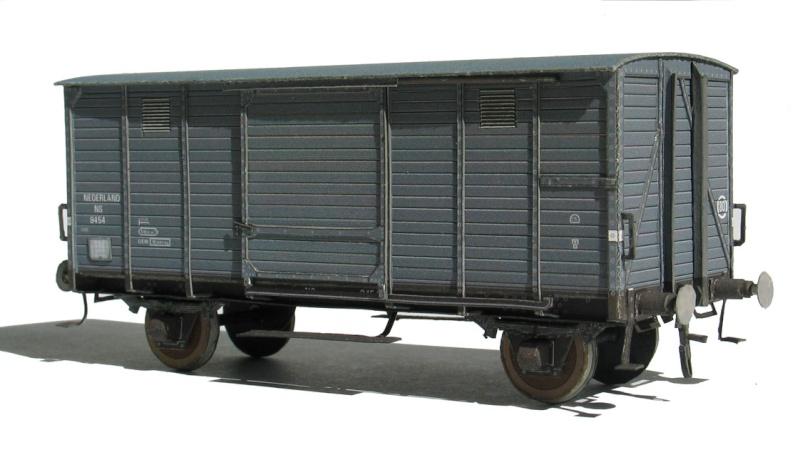 Neu: Niederländischer Güterwagen 1:87 bei Schaalbouw als Free-Download Chd2s10