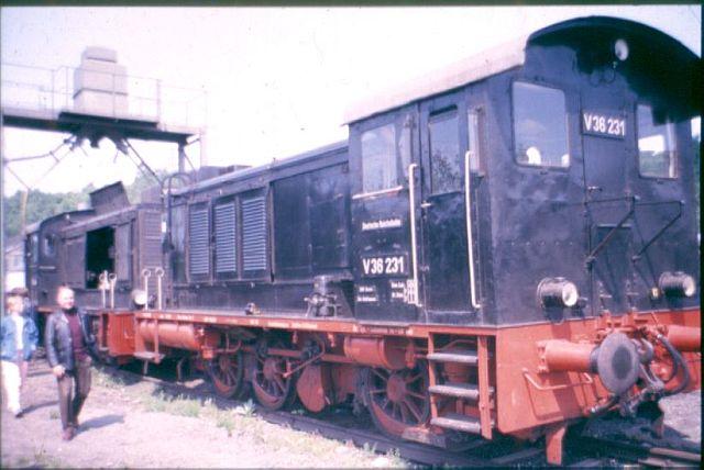 Die Diesellok der Baureihe 236 / V36 der DB - ex WR360 C14 V36_1_10