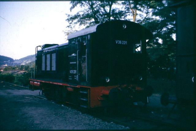 Die Diesellok der Baureihe 236 / V36 der DB - ex WR360 C14 V36_2_10