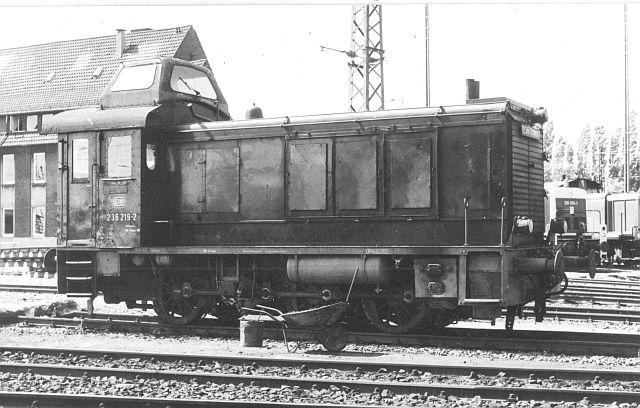 Die Diesellok der Baureihe 236 / V36 der DB - ex WR360 C14 V36_4_10