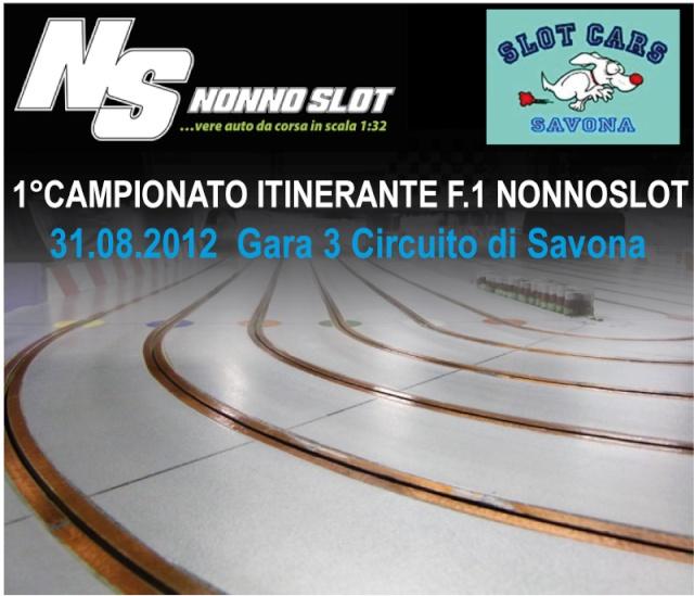 Gara 3 Campionato F.1 Nonnoslot Savona Gara3-11