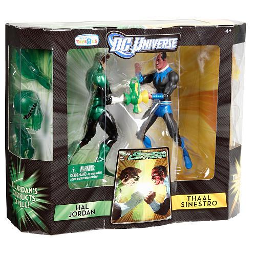 Green Lantern DC universe Classics 2pack Sinestro vs Hal Jordan Ptru1-10