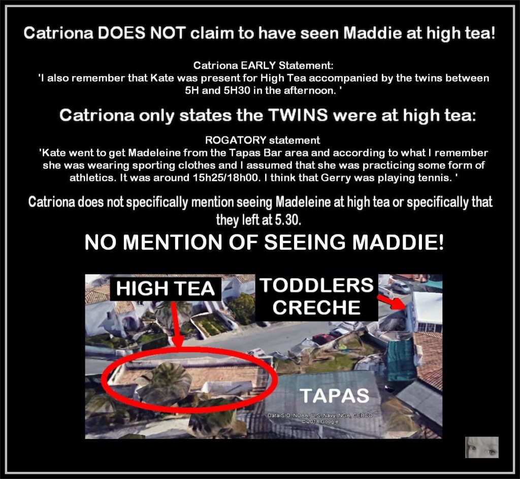 RESEARCH RESULTS: Is THIS how the McCanns were able to DECEIVE everyone into believing Maddie was ALIVE and at the creche? Catrio10