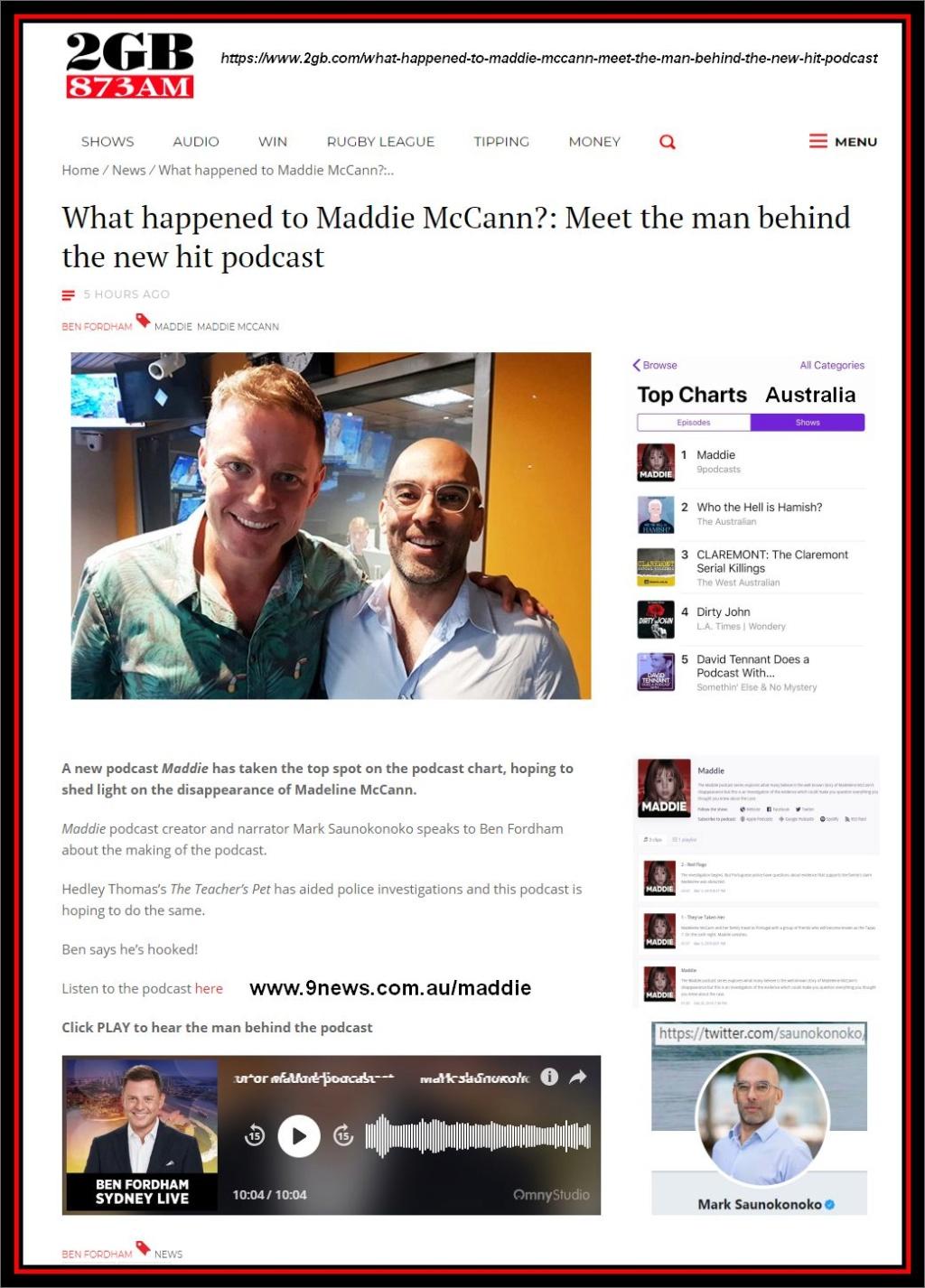 Mark Saunokonoko's Madeleine McCann Podcasts - Page 4 Mark_b10
