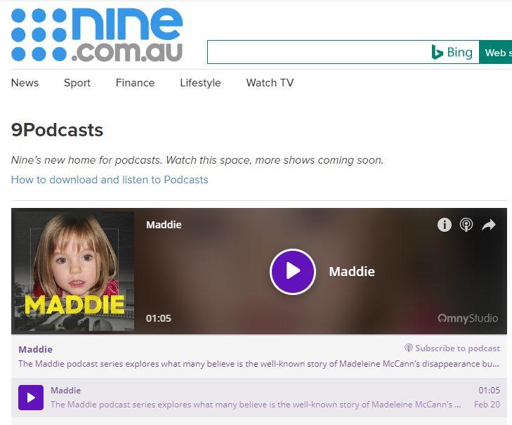 Mark Saunokonoko's Madeleine McCann Podcasts Podcas10