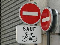SECURITE ROUTIÈRE : plus de sens interdits pour les vélos Pistec10