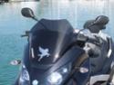 Bulle sport Ermax pour Piaggio Mp3 Dscf0310