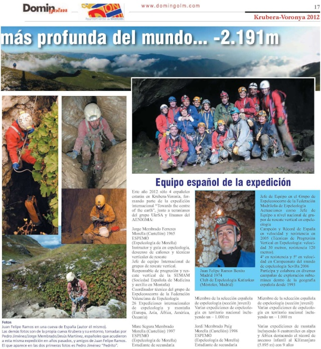 JUANFE, espeleólogo madrileño del KAtiuscas, en la sima más profunda del mundo -KRUBERA- Nuevo-11