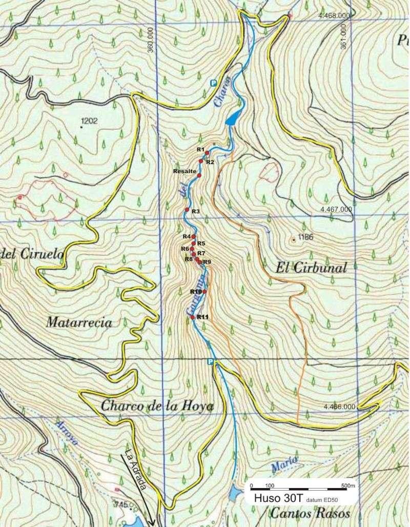 Barranco de la Adrada (Ávila) Topogr11