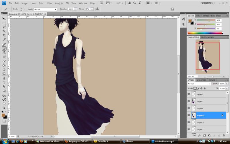 Art progress GO! - Page 2 Kuro_w10