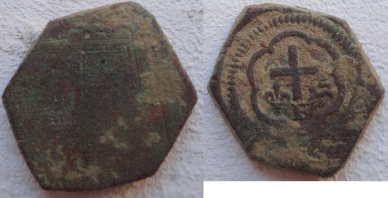 Poids monétaire pour le Salut Or d'Henri VI Roi d'Angleterre Dsc01010