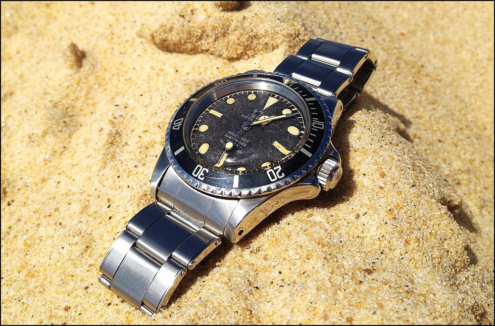 Tudor Submariner 7928, impressions >>> Beach10