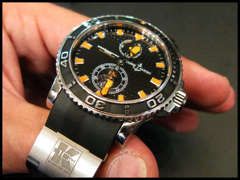 Essai - Ulysse Nardin Marine Diver Un110