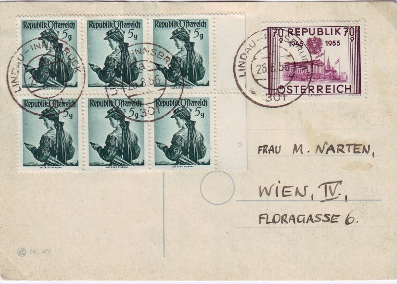 Trachtenserien ANK 887 - 923 und 1052 - 1072 Belege - Seite 5 5gr_au10