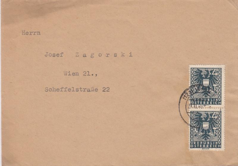 Wappenzeichnung  -  ANK 714-736 - Belege Img11
