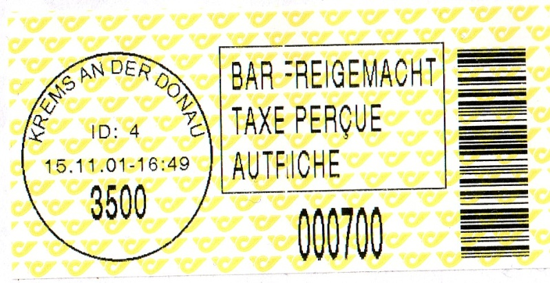 Bar-Codes in Österreich Label_10