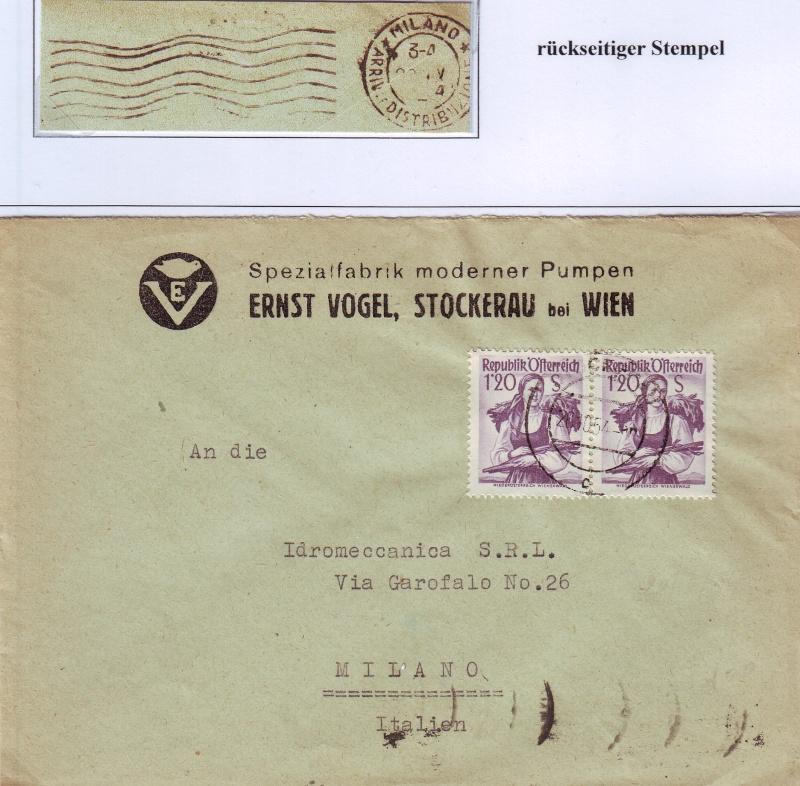 Trachtenserien ANK 887 - 923 und 1052 - 1072 Belege - Seite 4 Tracht13