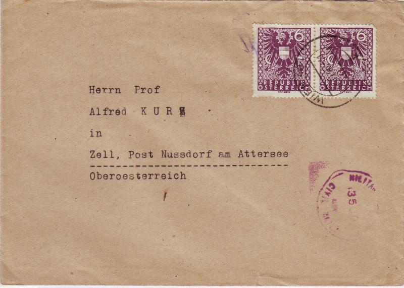Wappenzeichnung  -  ANK 714-736 - Belege Wappen10