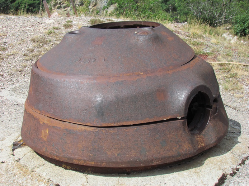 bunker dans l'ubaye 15 Aout 01810