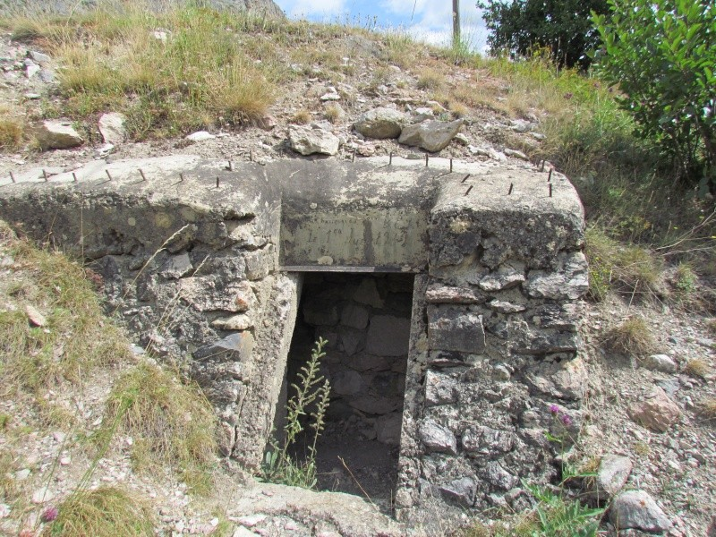 bunker dans l'ubaye 15 Aout 01910