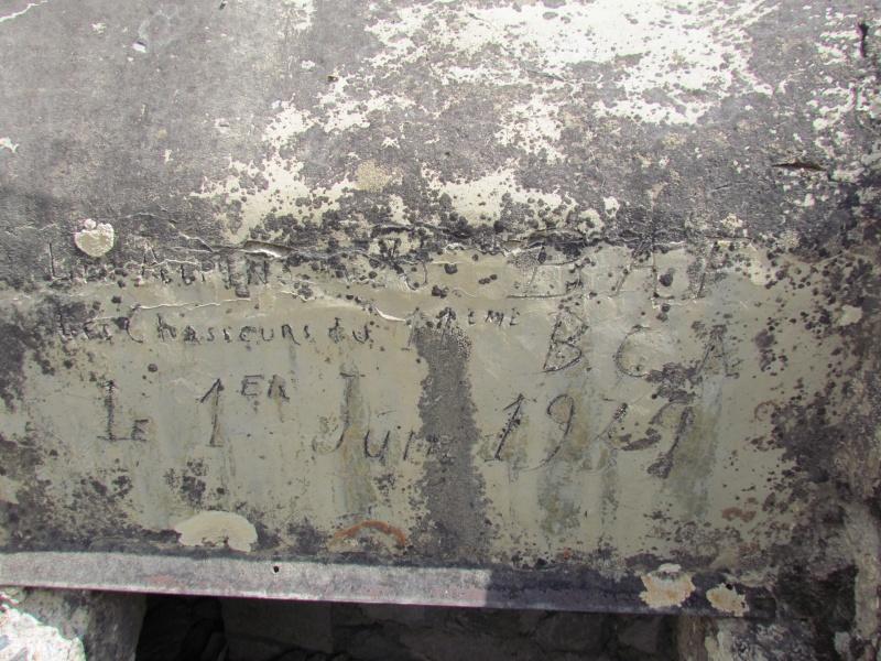 bunker dans l'ubaye 15 Aout 02010