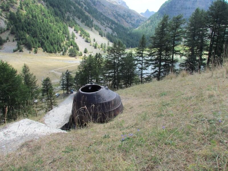 bunker dans l'ubaye 15 Aout Lac_de11