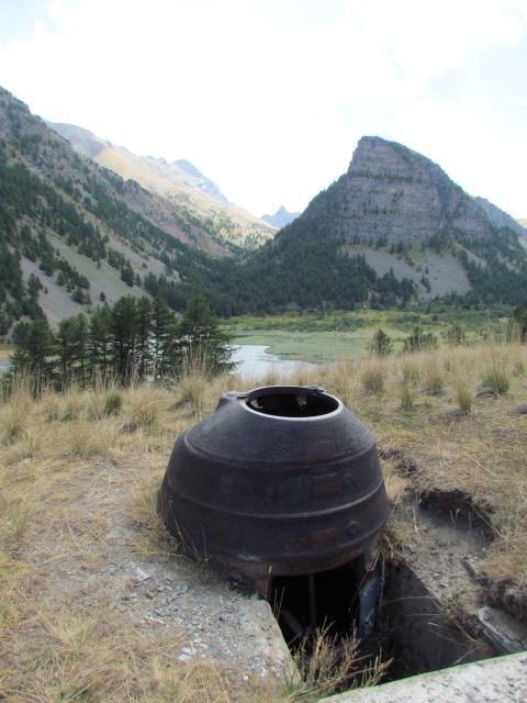 bunker dans l'ubaye 15 Aout Lac_de17