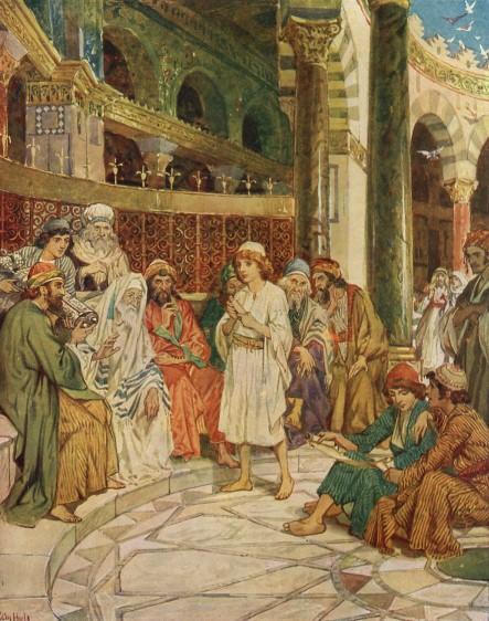 L'Évangile ou vie de Jésus en images. 11j10
