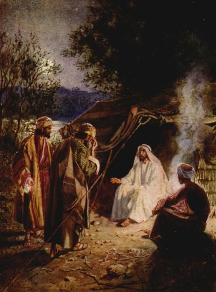 L'Évangile ou vie de Jésus en images. 17j10